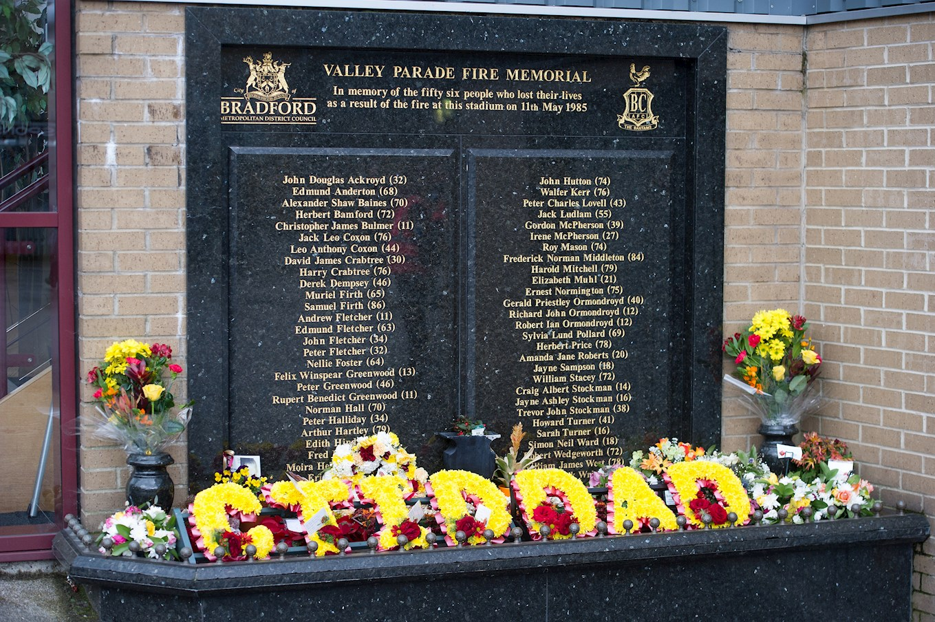 Valley Parade Memorial Arrangements - News - AFC Wimbledon