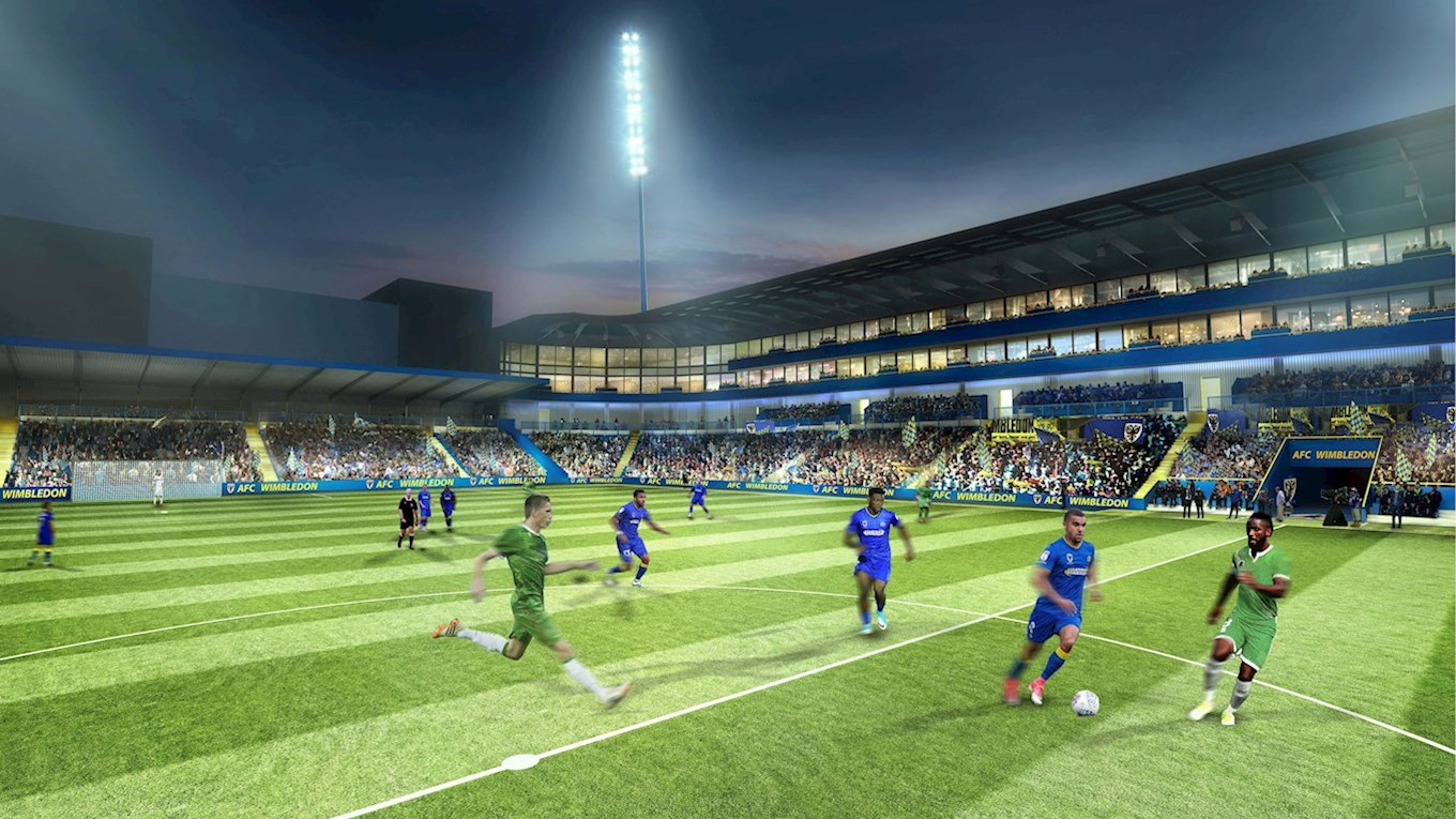 Afc Wimbledon Gets Permission To Start Building New